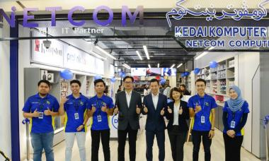Netcom opens revamped store at Times Square