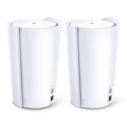 TPLINK DECO X90 (2-PACK) AX6600 WHOLE HOME MESH WIFI 6 SYSTEM